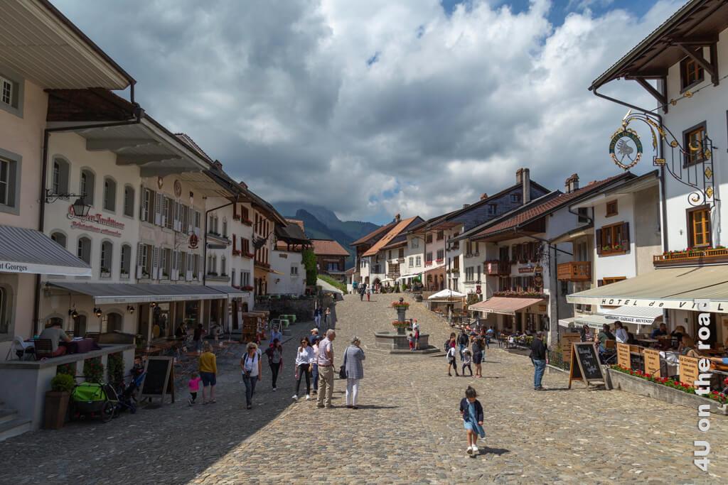 Altstadt von Gruyères