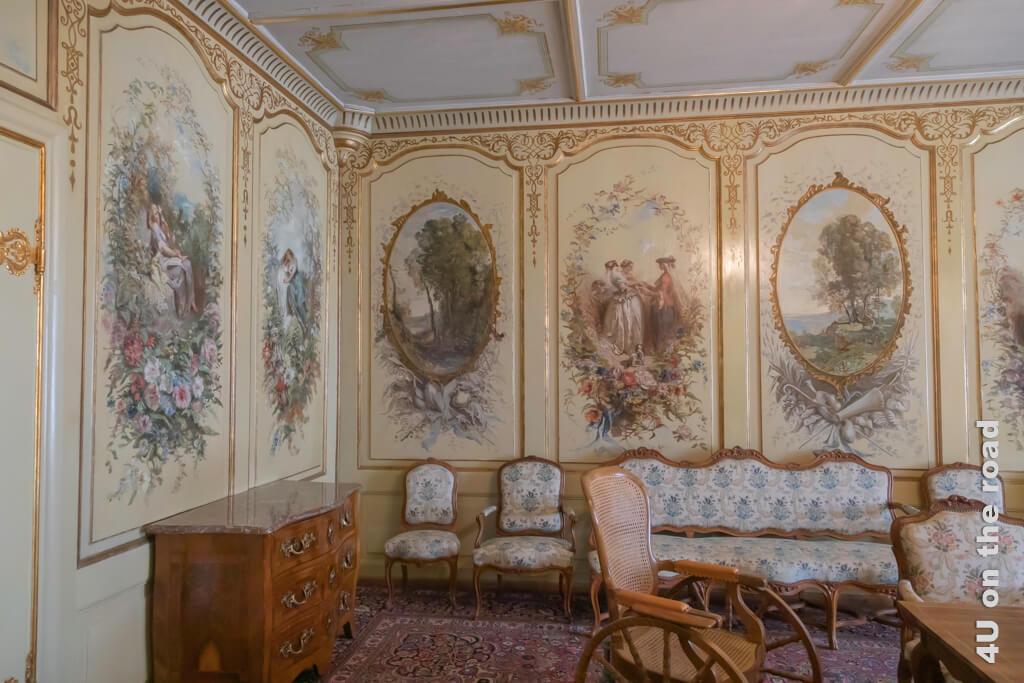 Salon Corot - Schloss Gruyères