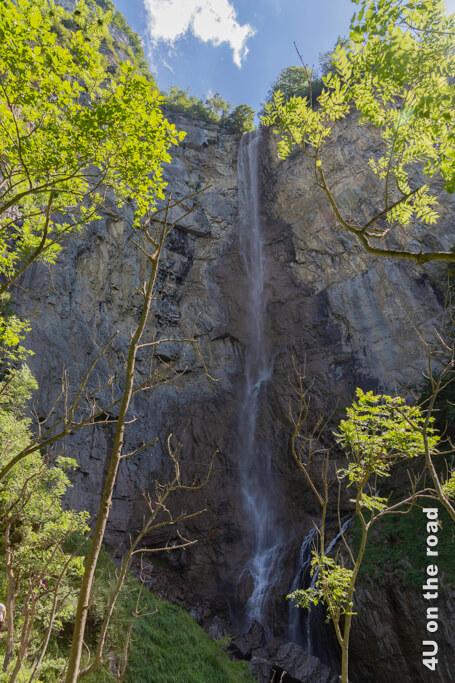 Obere Fallstufe der Seerenbachfälle