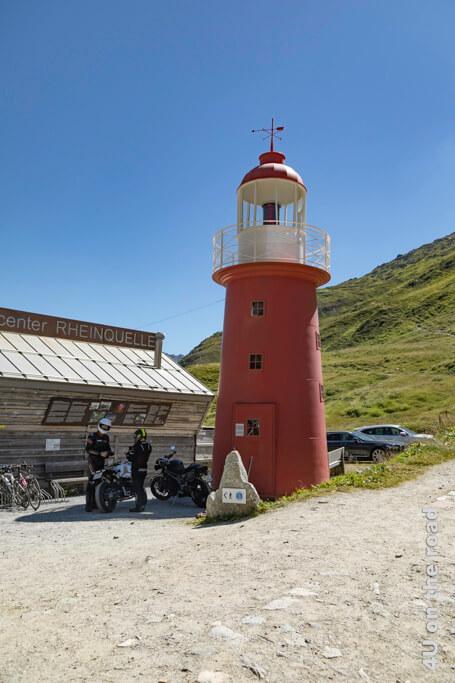 Der Leuchtturm am Oberalppass