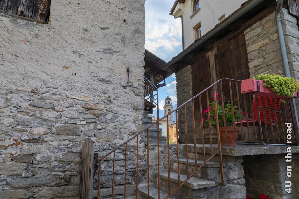 Durchblicke in Castasegna, Bergell