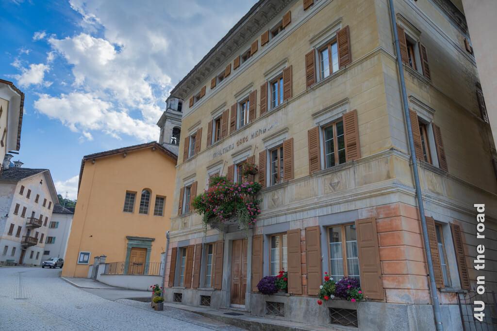 Castasegna hat als Ort im Bergell südländisches Flair und mediterranes Klima