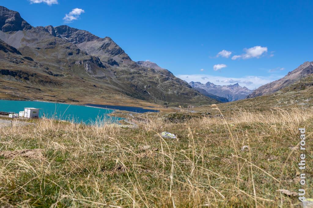 Lago Bianco und Lej Nair am Bernina Pass