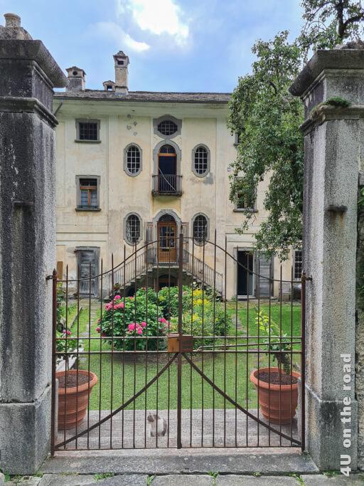 Rückseite der Casa Antonio - Soglio