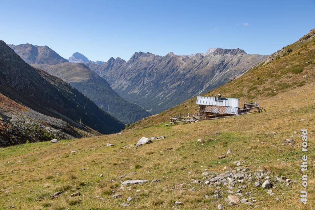 Jagdhütte im Val Champagna