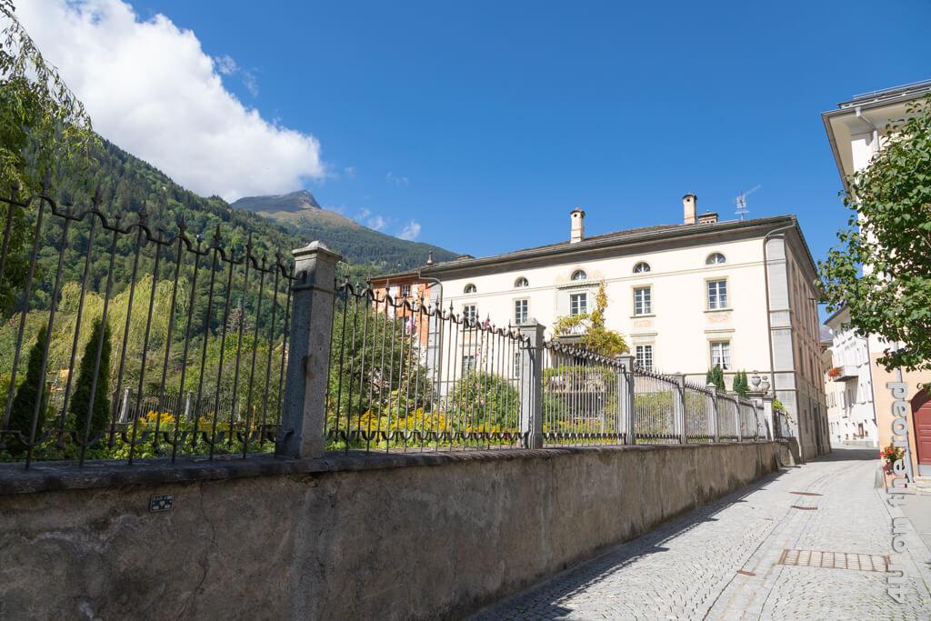 Diese Villa in Poschiavo wird privat bewohnt