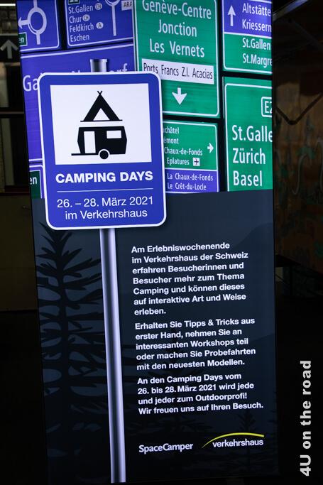 Werbeplakat Camping Days 2021
