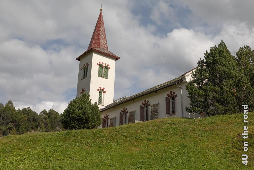 Die Chiesa Bianca in Maloja