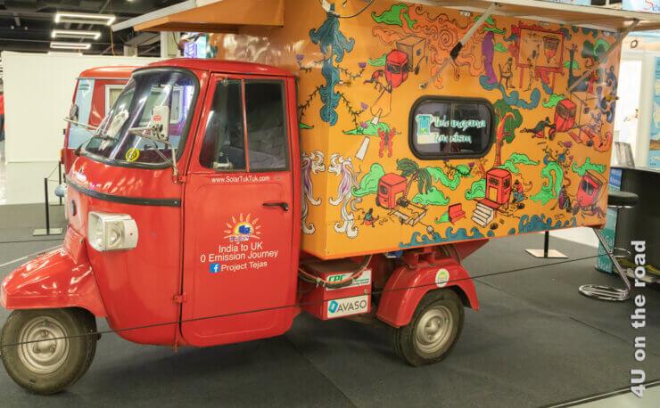 Feature - Wohnmobil wiegen - Werbetuktuk für das Verkehrshaus
