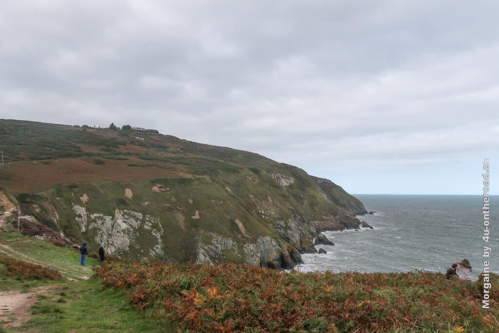 Die Wolkendecke zieht schnell weiter - Howth Cliff Walk