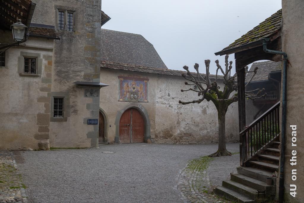 Innenhof des Klosters St. Georgen, Stein am Rhein