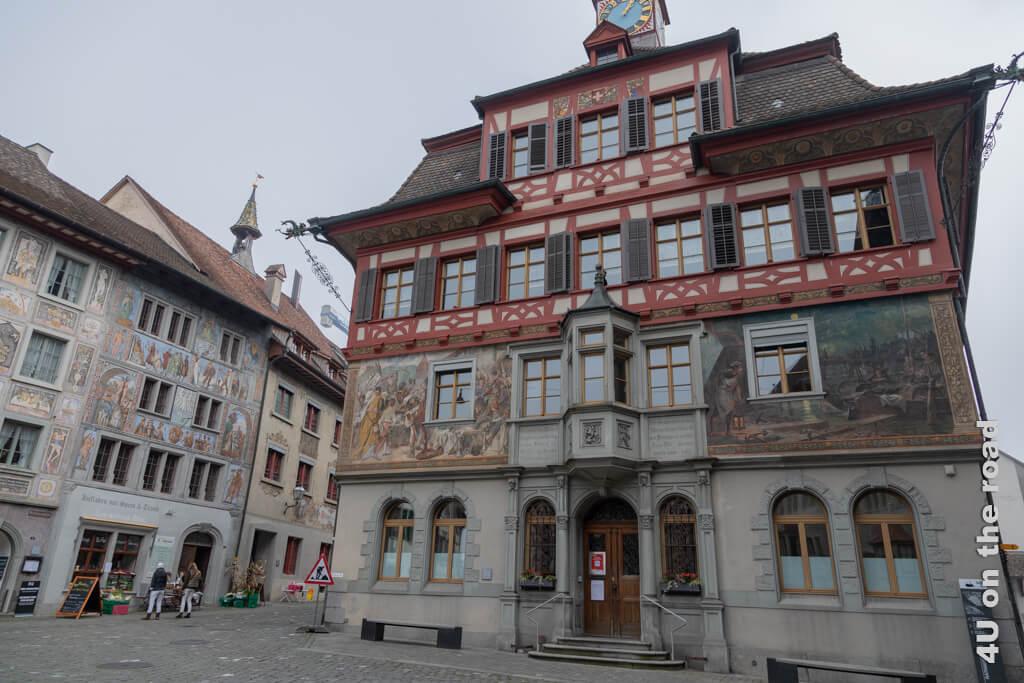 Vorderseite des Rathauses von Stein am Rhein