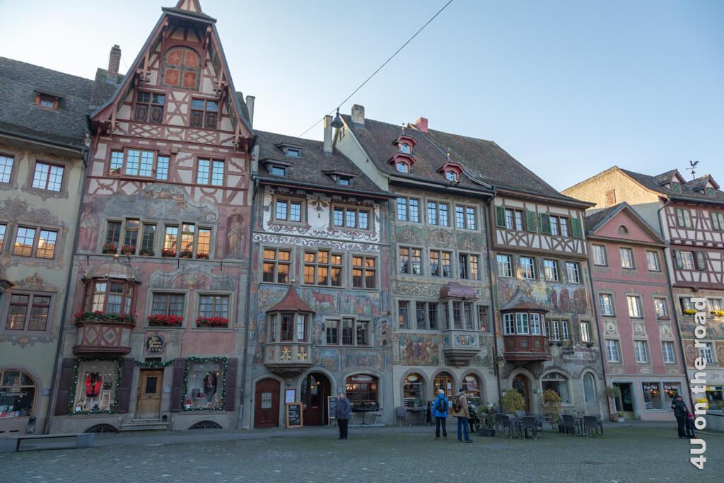 Fassaden in Stein am Rhein