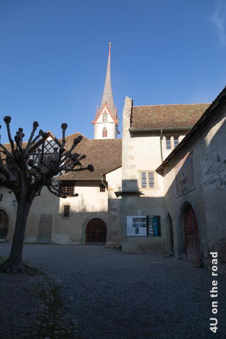 Der Innenhof des Klosters St. Georgen - Stein am Rhein