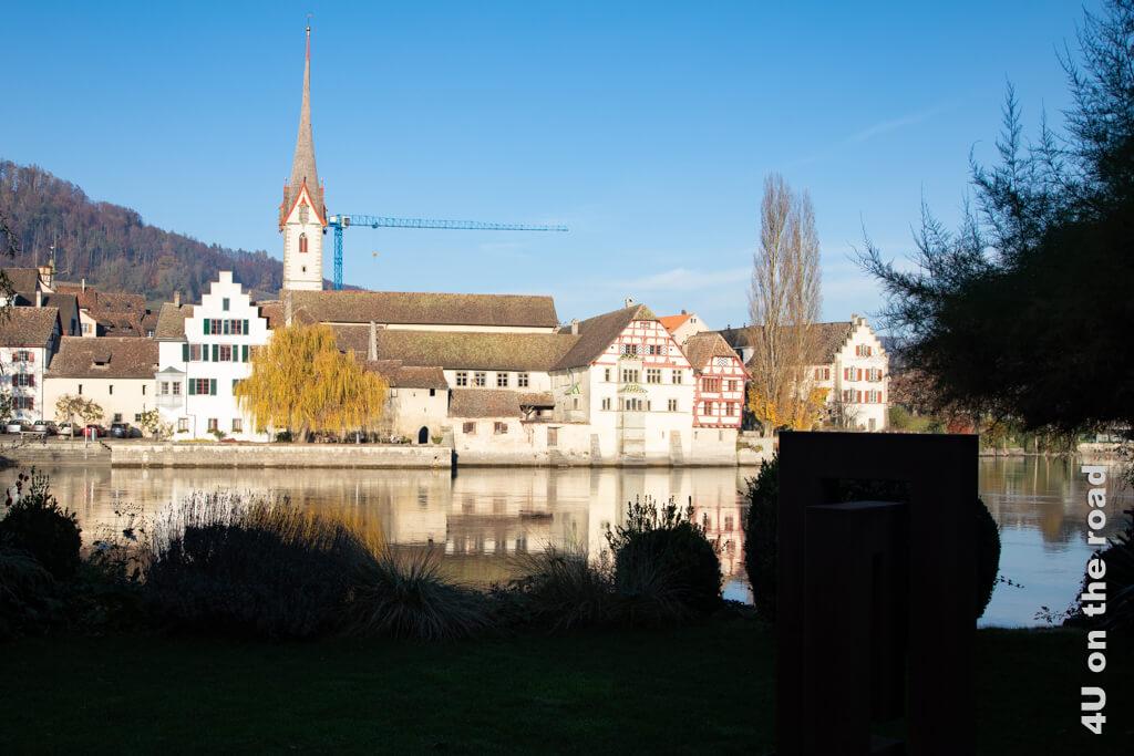 Licht und Schatten - Blick auf das Kloster St. Georgen, Stein am Rhein