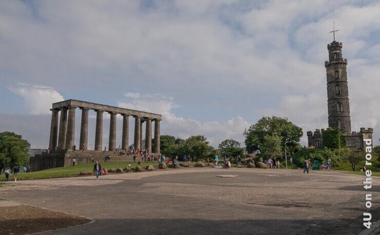 Feature Edinburgh - Calton Hill