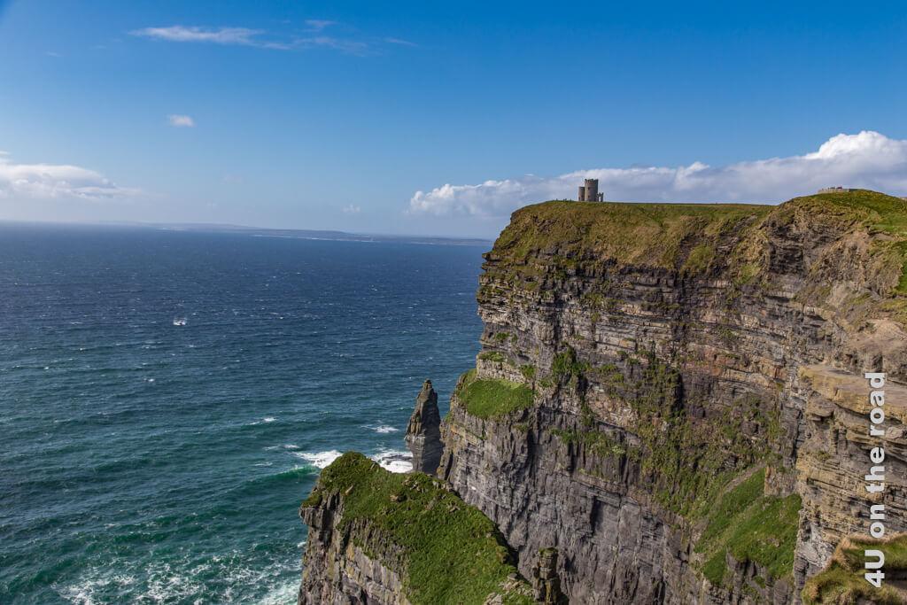 Die Cliffs of Moher standen auch auf der Wunschliste, die wir mit der Partnerorganisation in den ersten Trimester-Ferien besuchen wollten, aber dann kam erst Stufe 3, was wenigsten noch Ziele in Dublin ermöglicht hätte und dann der Lockdown. - Schüleraustausch trotz Corona?