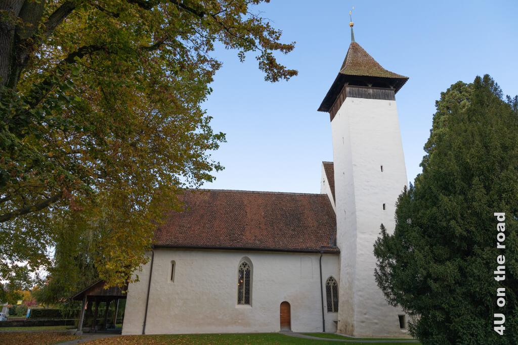 Die alte Scherzlinger Kirche