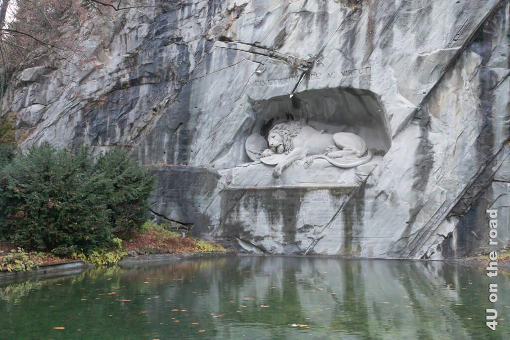 Löwendenkmal - Sehenswürdigkeit Luzern