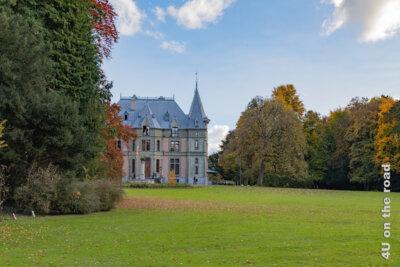 Schloss Schadau von der Eingangsseite gesehen