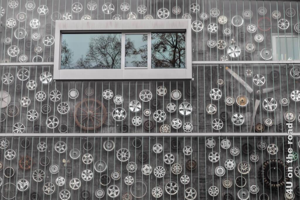 Aussenfassade des Verkehrshaus