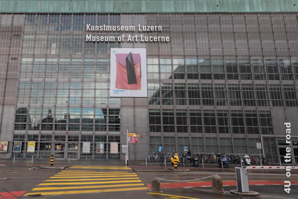 Das Kunstmuseum ist nicht zu verfehlen. - Übersicht Museen in Luzern
