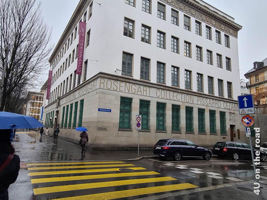 Die ehemalige Luzerner Filiale der Schweizer Nationalbank - Museen in Luzern