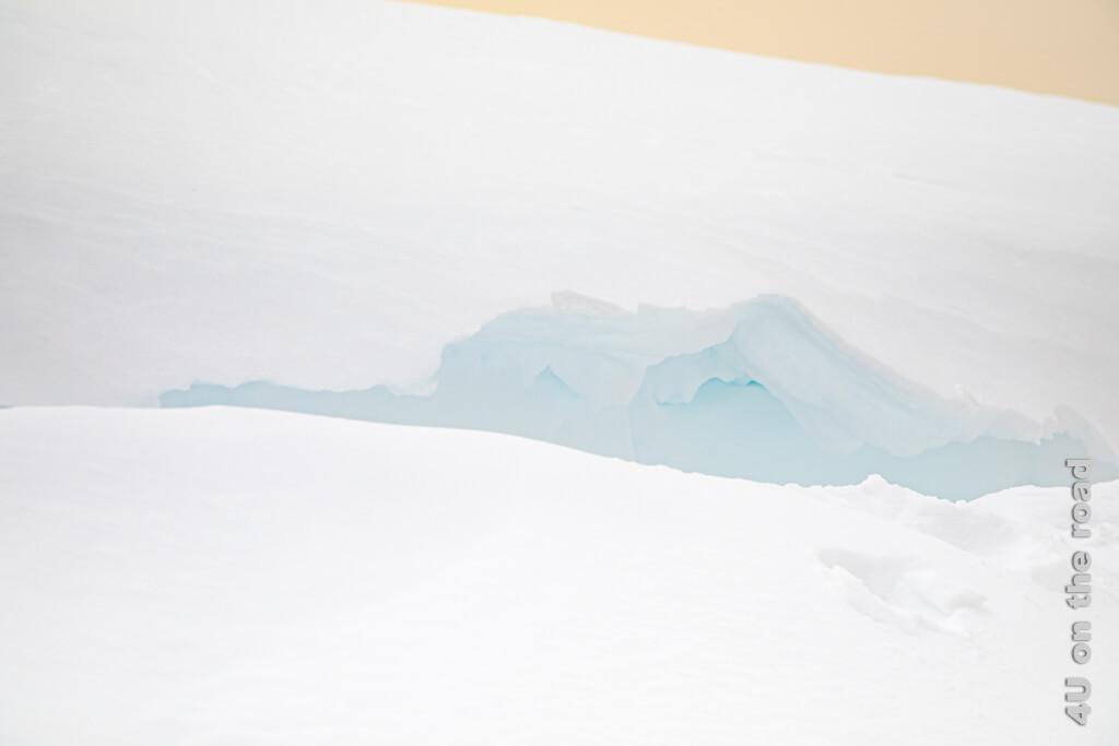 Saharagelb und Gletscherblau - Winterwanderung auf dem Pizol