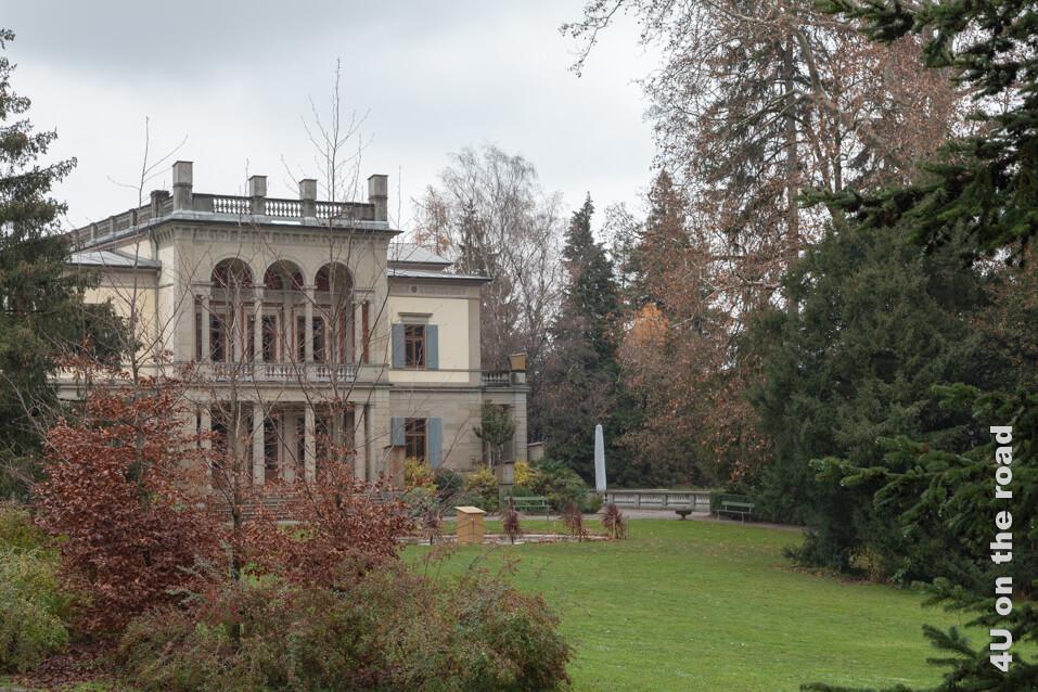 Blick auf die Villa Wesendonck - Museum Rietberg