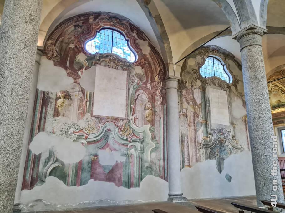 Restaurierte Fresken in der Kirche San Francesco