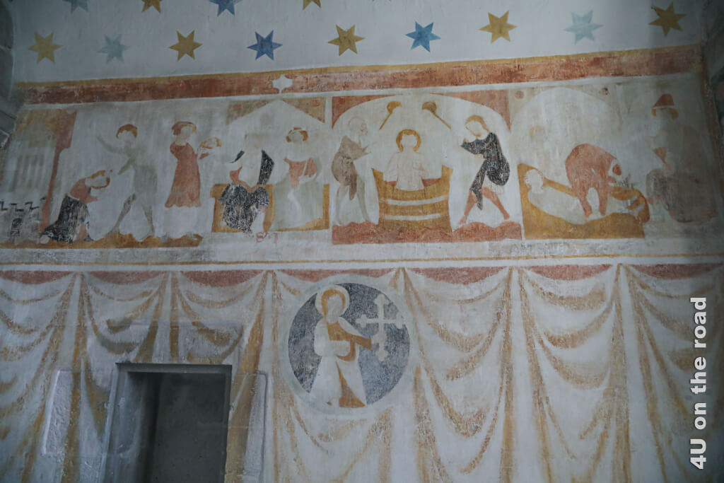 Fresken in der Johanneskapelle - Klosterkirche Kloster Kappel