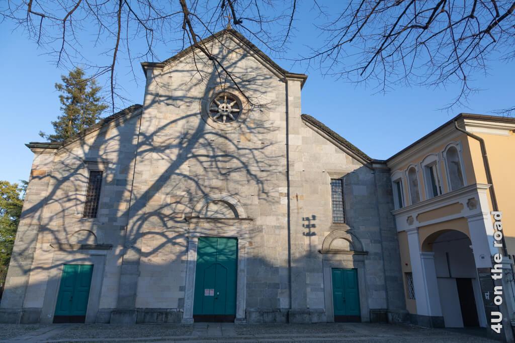Die Kirche San Francesco in Locarno ist für deutschsprechende Katholiken