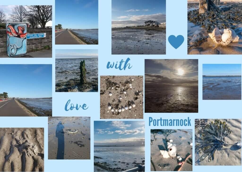 Mosaik Foto Challenge Meer - Portmarnock