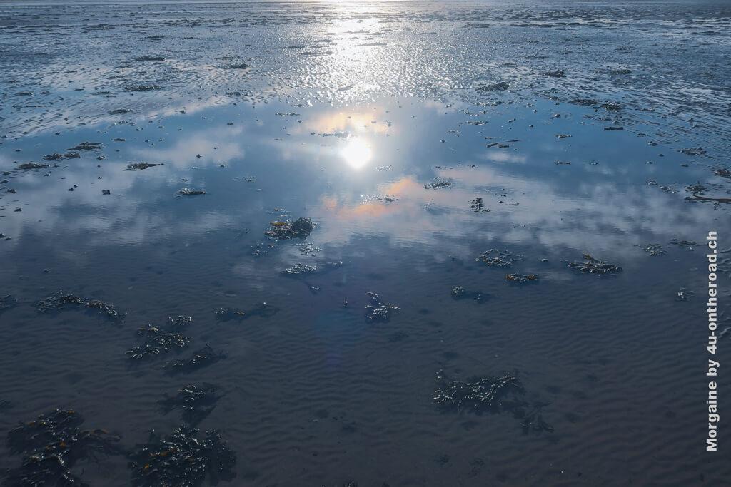 Der Himmel im Meer gespiegelt ist doch der Begriff von Unendlichkeit oder? Foto Challenge Meer - Der Himmel über Portmarnock