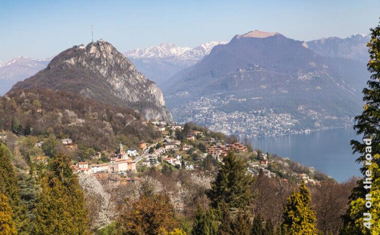 Feature Wanderung vom Monte San Salvatore nach Morcote