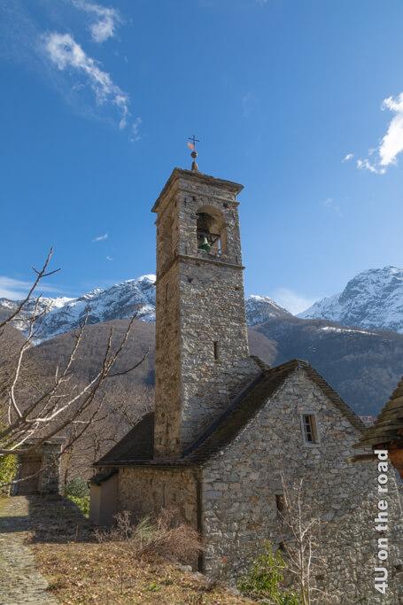 Die Kirche von Terra Vecchia.
