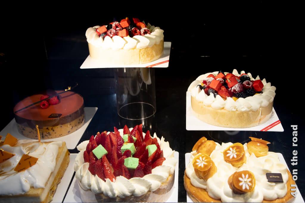 Und da heisst es immer, Kuchen hat keine Vitamini. Bei diesem Anblick möchte man doch spontan Tortenverkoster werden.