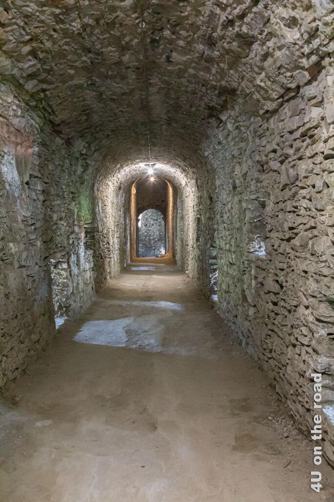 Im Inneren der Stadtmauer von Bellinzona