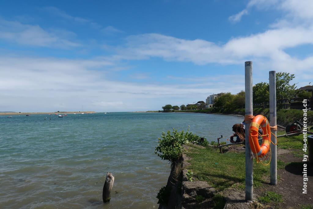 Das Meer werde ich vermissen, auch wenn es zu kalt zum Baden war.