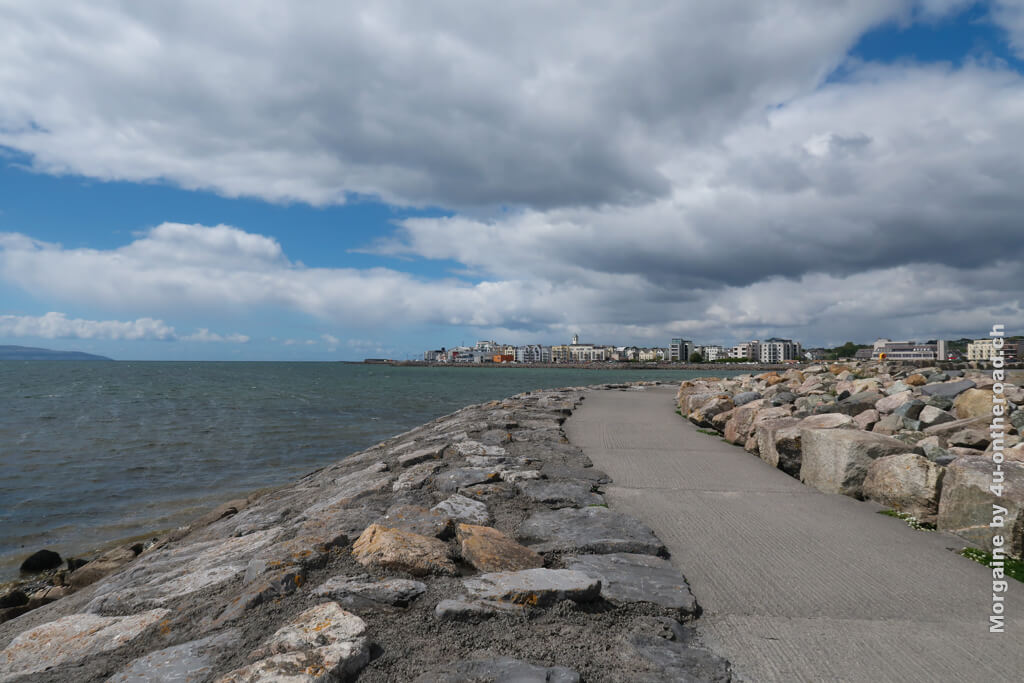 Uferpromenade in Galway - Wenigstens Galway haben wir vor der Rückkehr vom Austauschjahr in Irland noch gesehen.