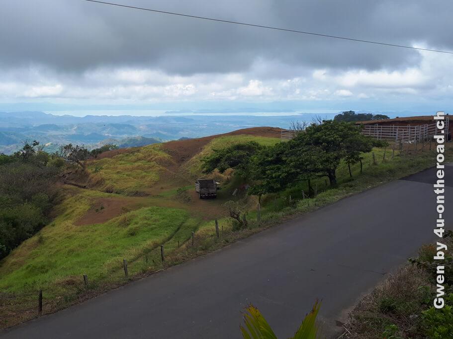 Die Landschaft in Monteverde