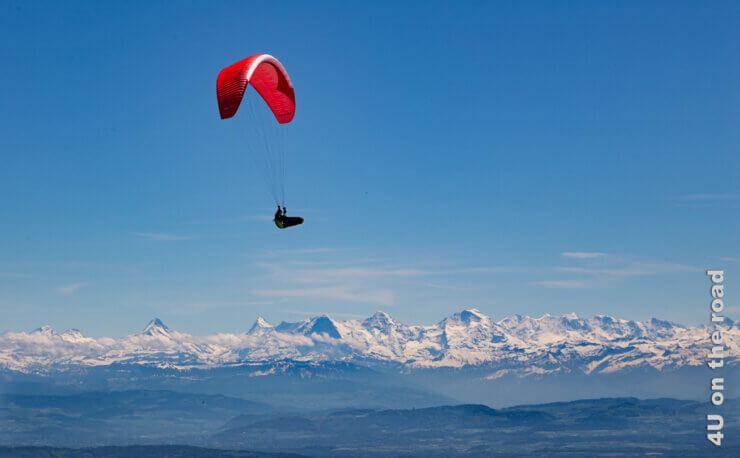 Feature Alpenpanorama vom Chasseral