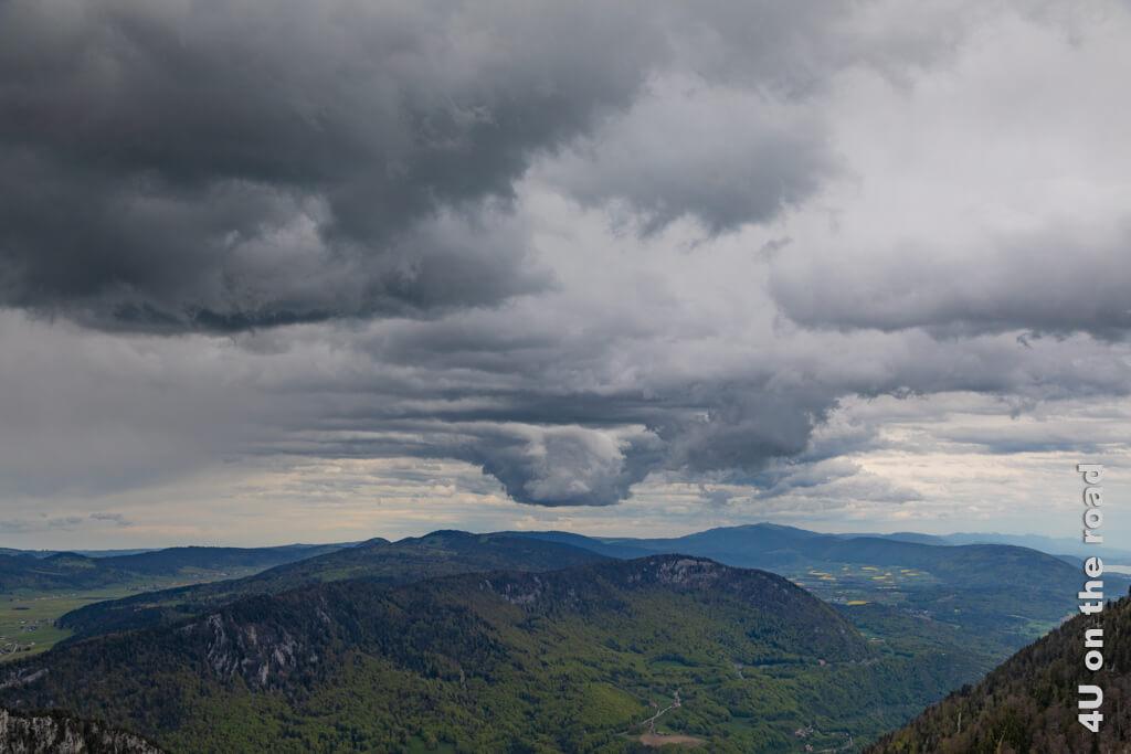 Dank dieser Wolke können wir dem Wetter sogar eine schöne Seite abgewinnen.