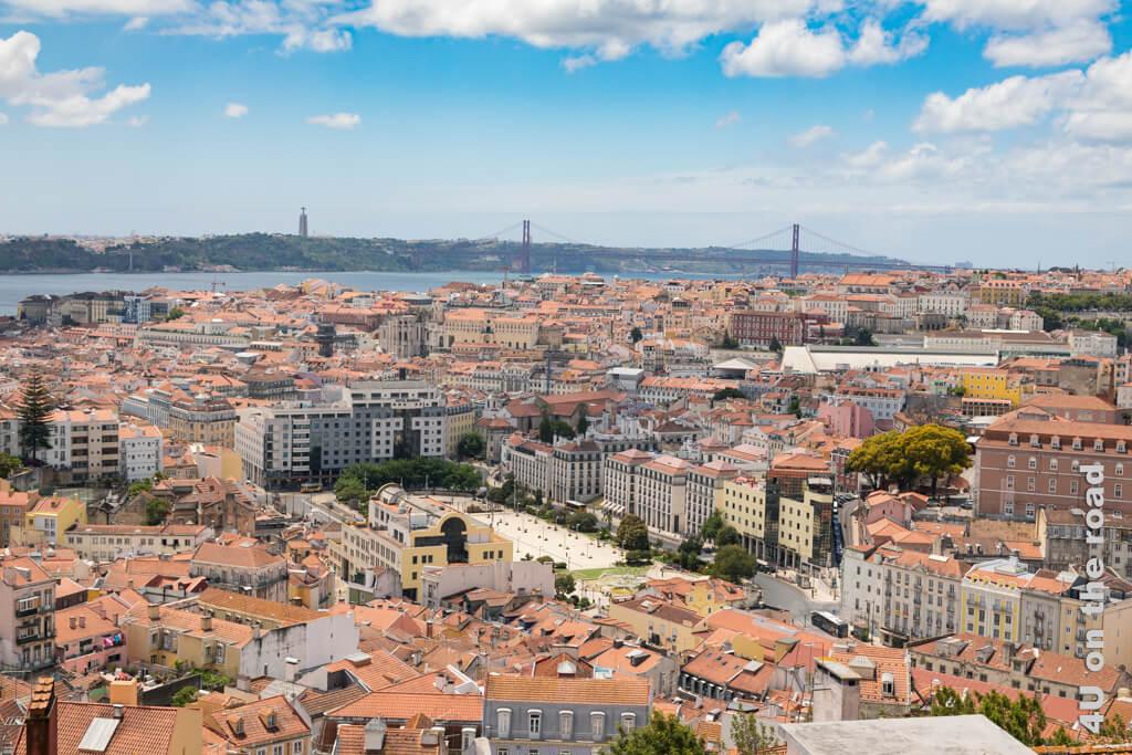 Spektakulären Aussicht vom Miradouro Senhora de Monte