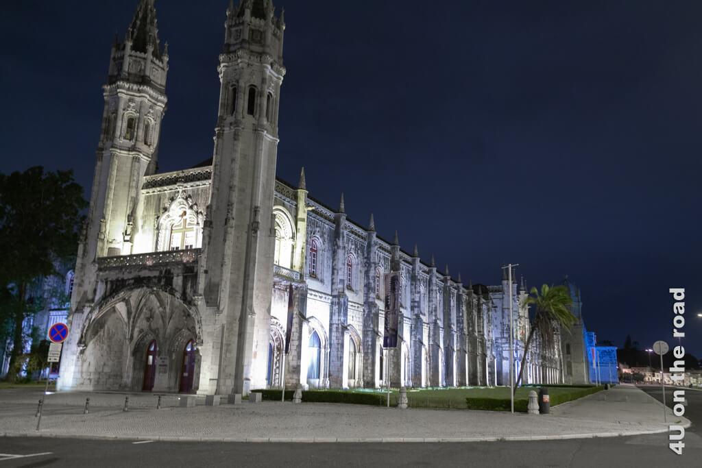Das Hieronymuskloster - eine Lissaboner Sehenswürdigkeit bei Tag und bei Nacht