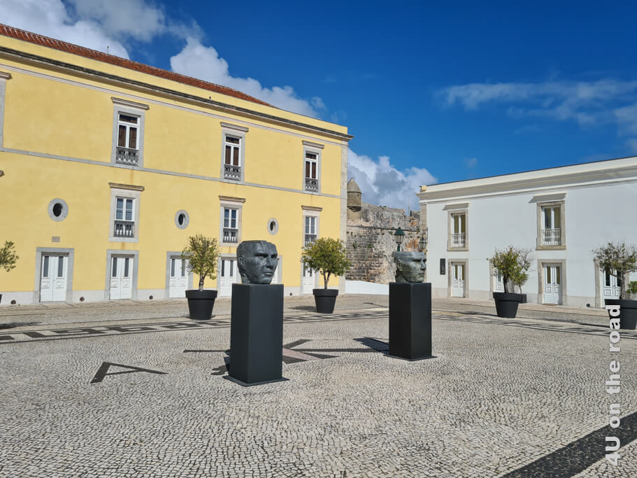 Alt und modern - eine perfekte Kombination in der Zitadelle von Cascais.