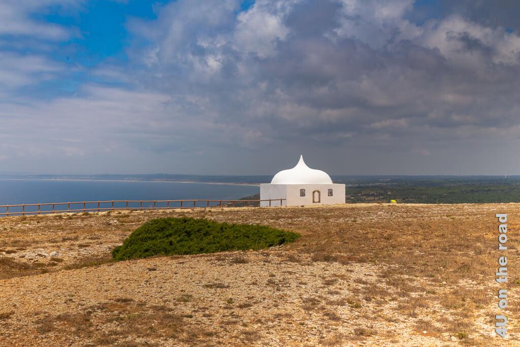 Die Kapelle Ermida da Memória am Cabo Espichel - Die Kapelle gehört zum Kloster am Cabo Espichel