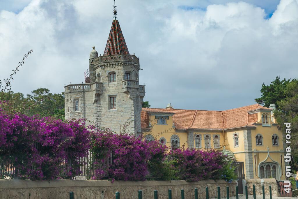 Museu Condes de Castro Guimarães, Cascais mit schönem Park. - Vom westlichsten Punkt Europas nach Cascais.
