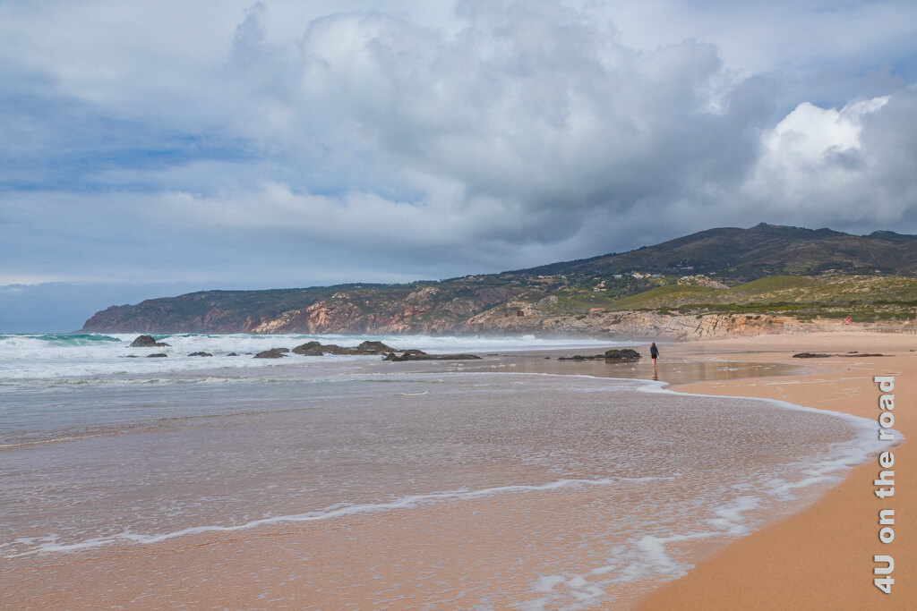 Strandspaziergang am Praia do Guincho