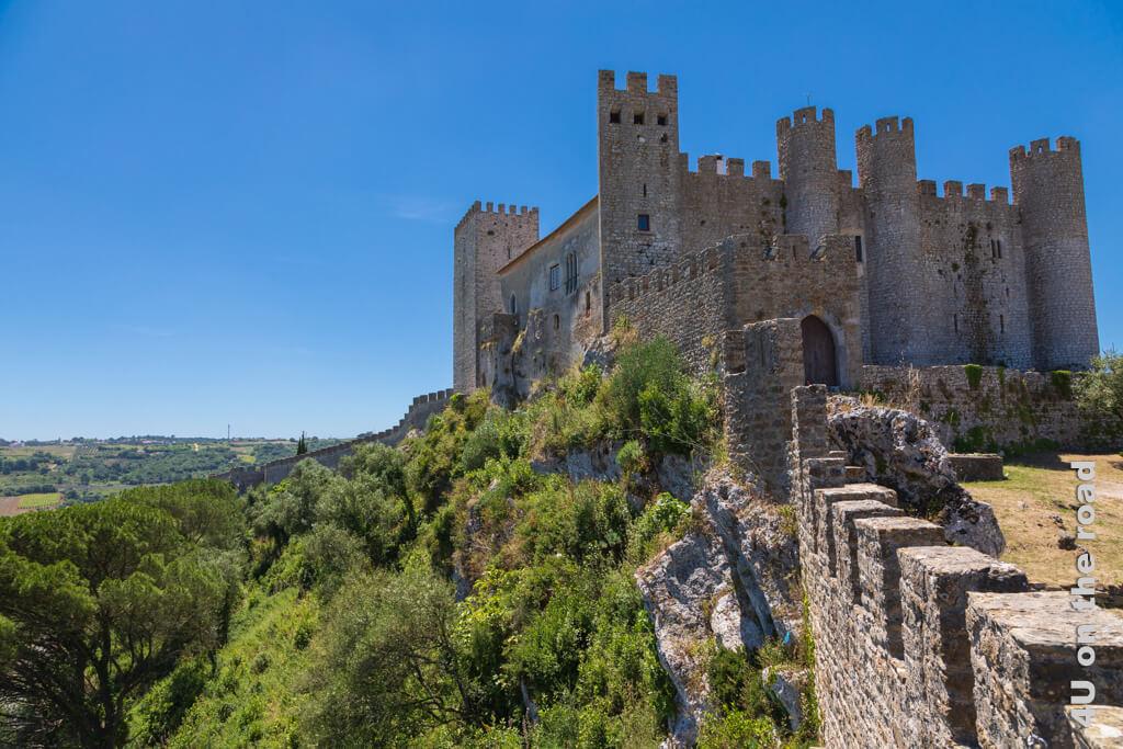 Letzter Blick auf das Castelo de Óbidos